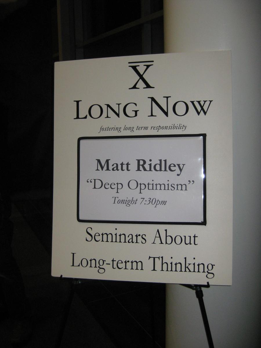 matt ridley when ideas have sex