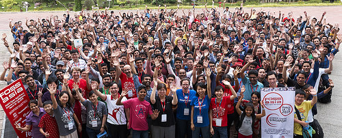 Official Group Photograph - FOSSASIA 2016