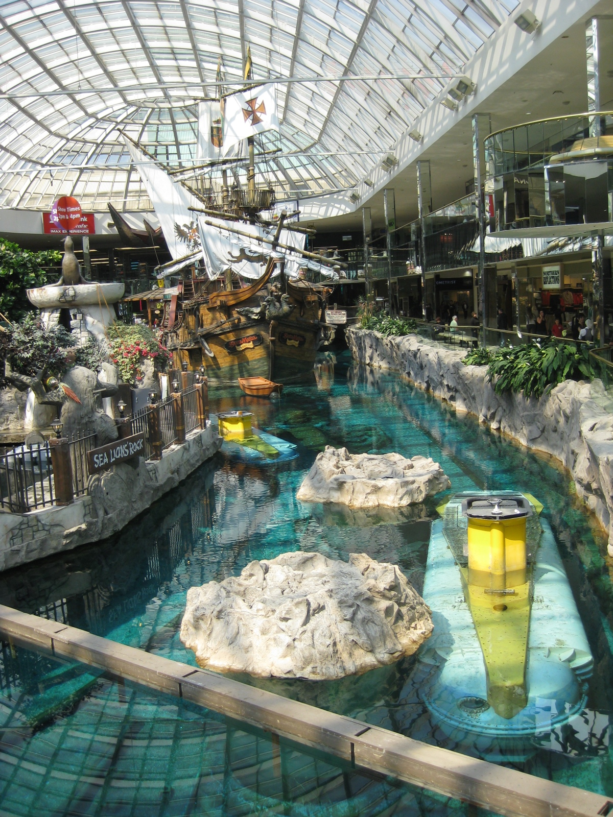 Fish aquarium edmonton - Apparently They Do Parties For Kids And Things On The Giant Pirate Ship That Watery Area Is Also Home To The Sea Lions And A Small Underground Aquarium So