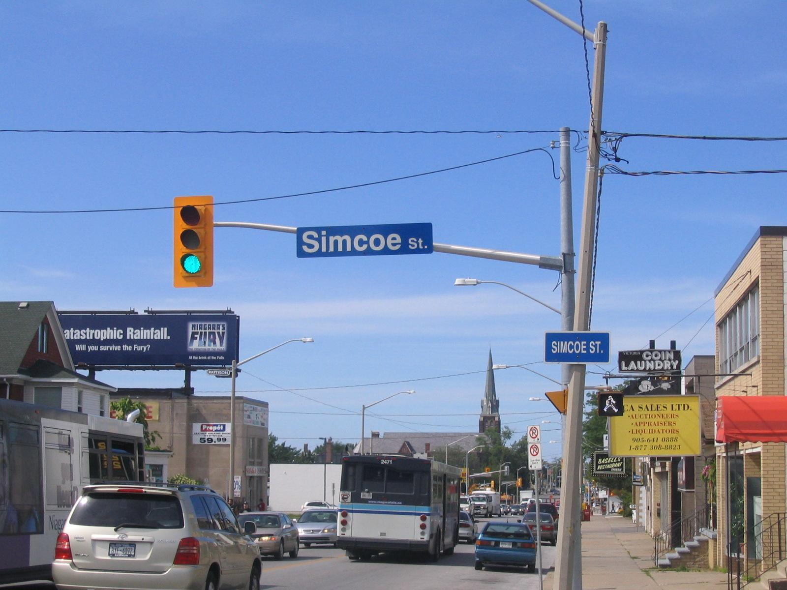 Simcoe (ON) Canada  city photo : Simcoe Street in Niagara Falls, Canada – pleia2's blog
