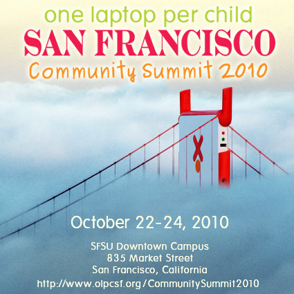 OLPCSF Community Summit 2010