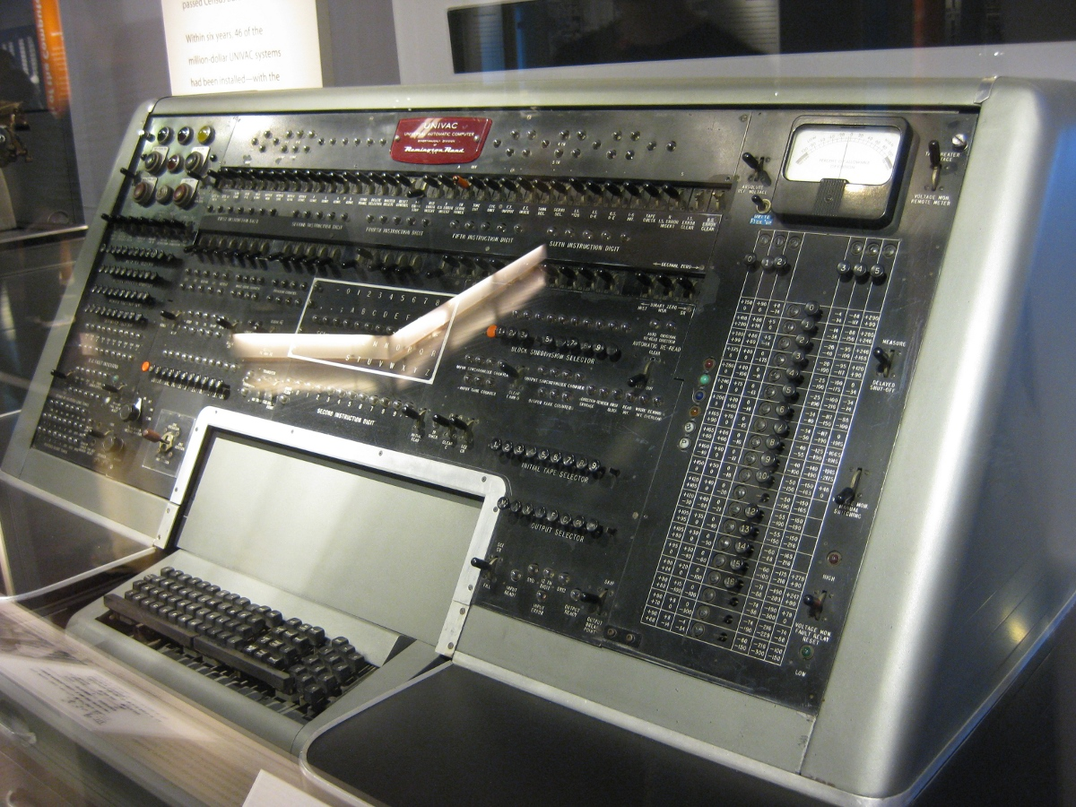 Univac Computer 31 years old �...